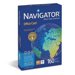 Papier Navigator Office Card A4/160g, do druku laserowego, klasa A++