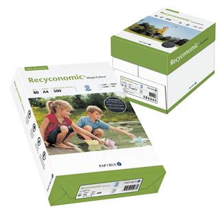 Papier Papyrus Recyconomic A4/80g, biel 70%, ekologiczny papier z recyklingu