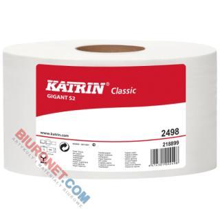 Papier toaletowy Katrin Gigant S2 Jumbo 2498, do podajników [BI 2W MAK]