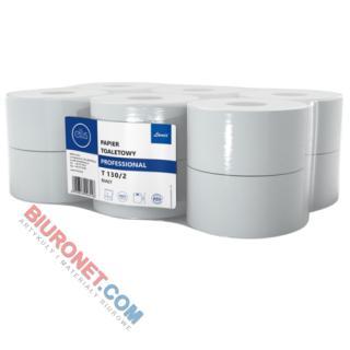 Papier toaletowy Lamix Ellis Professional, rolki jumbo do podajników [BI 2W CEL]