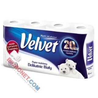Papier toaletowy Velvet Delikatnie Biały, standardowy [BI 3W CEL]