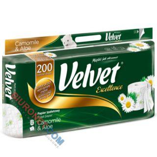 Papier toaletowy Velvet Excellence Camomile & Aloe [BI 3W CEL]