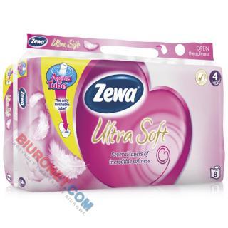 Papier toaletowy Zewa Ultra Soft, standardowy, zdobiony wzorekim [BI 4W CEL]