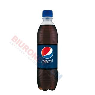 Pepsi, napój gazowany, w butelce 0,5L x 24 sztuki