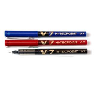 Pióro kulkowe Pilot V7 Hi-Tecpoint 0,7mm, z płynnym tuszem