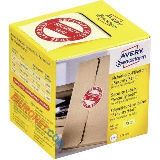 Plomby zabezpieczające przesyłki, etykiety Avery Zweckform
