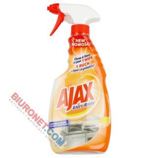 Płyn Ajax Easy Rinse Kitchen&Stains, do kuchni i trudnych plam