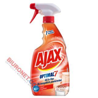 Płyn Ajax Optimal 7 All In One, spray uniwersalny