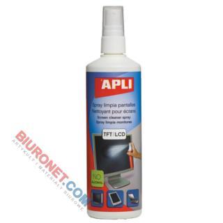 Płyn do czyszczenia monitorów LCD/TFT, Apli 250 ml