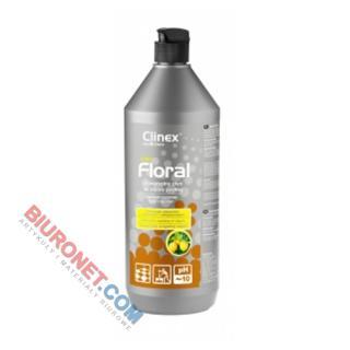 Płyn do podłogi CLINEX Floral, do codziennej pilęgnacji posadzek, 1L