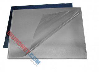 Podkładka na biurko Bantex, z dodatkową folią, 49 x 56 cm czarna