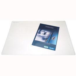 Podkładka na biurko Bantex, z dodatkową folią, 49 x 56 cm przezroczysta
