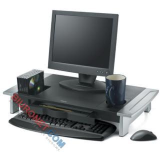 Podstawa pod monitor Fellowes Premium Office Suites, wielofunkcyjna, ergonomiczna