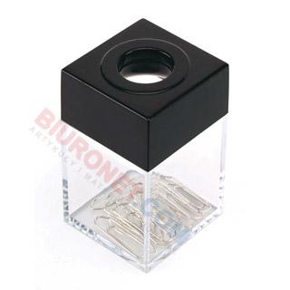 Pojemnik magnetyczny na spinacze Q-Connect, mały + 10 spinaczy