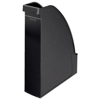 Pojemnik na dokumenty Leitz Plus A4/70mm, duża pojemność, plastikowy czarny