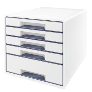 Pojemnik na dokumenty Leitz WOW, szafka z 5 szufladami