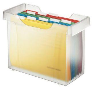 Pojemnik na teczki zawieszkowe Leitz Plus, kartoteka