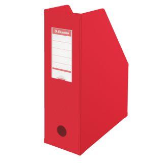 Pojemnik składany Esselte Vivida, skośny na dokumenty, grzbiet 100 mm