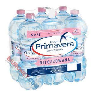 Primavera, woda źródlana [1L x 6 sztuk]