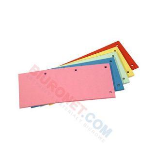Przekładki podłużne Datura, kartonowe 1/3 A4, 100 sztuk