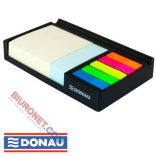 Przybornik biurkowy Donau, z szufladką na karteczki i zakładki