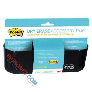 Przybornik Post-it Dry Erase, koszyk na akcesoria do tablic suchościeralnych
