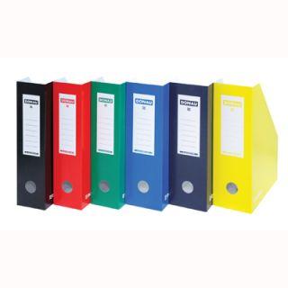 Pudełko kartonowe na dokumenty, format A4/100 mm. Donau