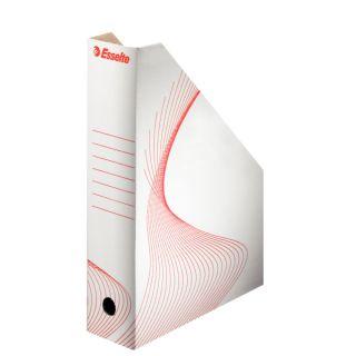 Pudełko kartonowe skośne Esselte, A4/80mm  #archiwizacja