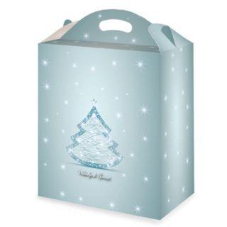 Pudełko ozdobne świąteczne 30 x 18 x 35 cm, pojemność 19L
