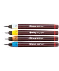 Rapitografy firmy Rotring od 0,13m do 2,0mm. Na zamówienie