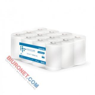 Ręcznik w rolce Velvet CARE Professional, biały papier celulozowy, 2-warstwowe, do dozowników 12 rolek x 52 m