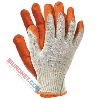 Rękawice ochronne, wampirki pomarańczowe, rozmiar 10