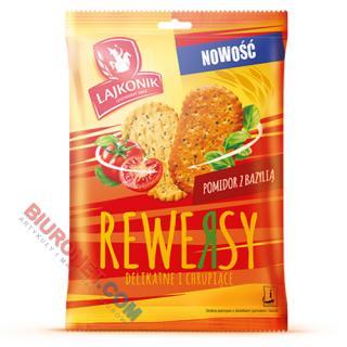 Rewersy Lajkonik, krakersy smakowe 95g