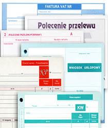 Rozliczenie zaliczki A6, 40 kartek, offsetowy druk Michalczyk i Prokop 409-5