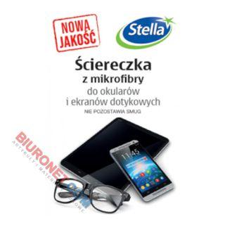 Ściereczka antystatyczna Stella Do Ekranów Dotykowych i Okularów 18x15 cm, mikrofibra