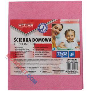 Ścierka domowa Office Products 32 x 38 cm, gruba, mix kolorów