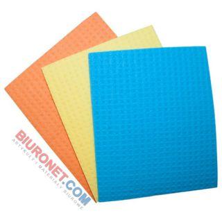 Ścierka gąbczasta Office Products 18 x 16cm, mix kolorów