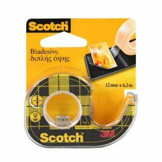 Scotch Double Sided Tape, dwustronna taśma samoprzylepna z podajnikiem #3M