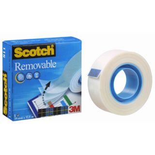 Scotch Removable, matowa taśma do repozycjonowania (odklejalna) w pudełku #3M