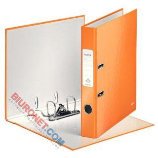 Segregator Leitz WOW A4, z dźwignią i mechanizmem 180°, pomarańczowy