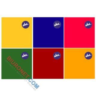 Serwetki Velvet/AHA, kolorowe, 3-warstwowe, 20 sztuk