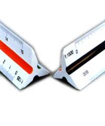Skalówka Leniar, trójkątna linijka