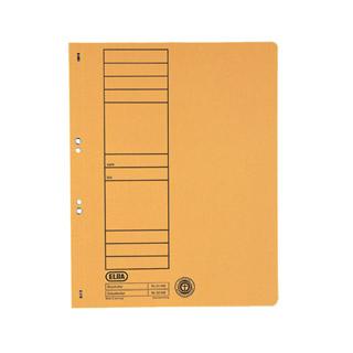 Skoroszyt kartonowy Elba A4, oczkowy pełny, opakowanie 50 sztuk