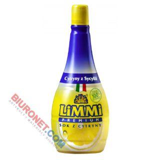 Sok z cytryny sycylijskiej LiMMi Premium, naturalny