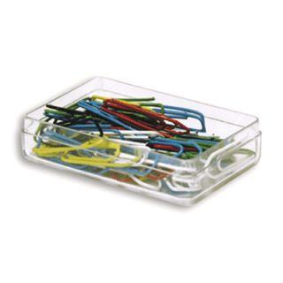 Spinacze kolorowe w pudełku plastikowym opk. 50 szt