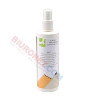 Spray do tablic suchościeralnych Q-Connect, bez alkoholu, do czyszczenia
