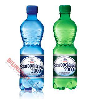 Staropolanka 2000, woda wysokozmineralizowana 0,5L x 12 sztuk