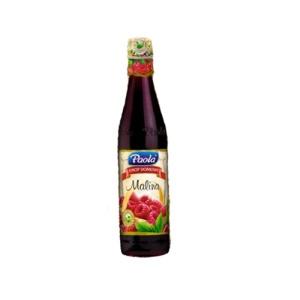 Syrop Paola, sok do rozcieńczania 430ml malinowy