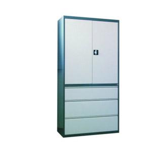 Szafa aktowo-kartotekowa SKB 2, metalowa, 2 półki, 3 szuflady