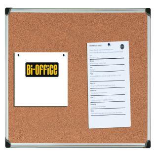 Tablica korkowa Bi-Office, w ramie aluminiowej